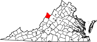 Map of Va: Highland County
