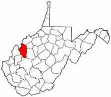 Map of Va: Jackson County