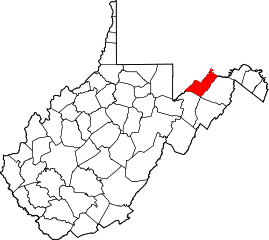 Map of Va: Mineral County