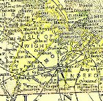 Map of Va: Nansemond County