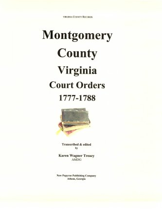 Genealogy researching in Montgomery County Virginia